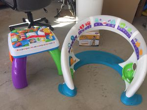 Baby activity table and activity stand for Sale in Entiat, WA