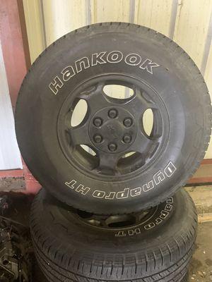 Silverado tires and rims for Sale in Hammond, IN