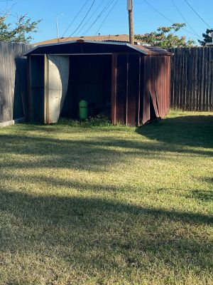 Free aluminum shed for Sale in Midland, TX