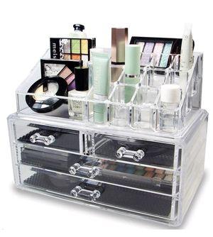 Makeup storage organizer / vanity for Sale in Rancho Cucamonga, CA