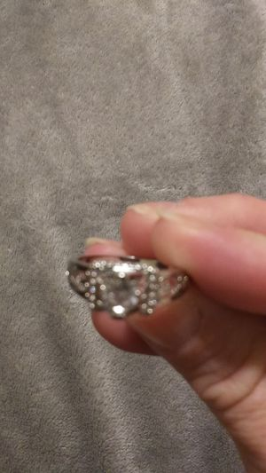 14K White Gold Filled Wedding Ring for Sale in Finleyville, PA