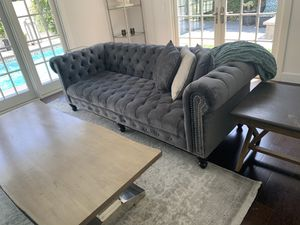 Brand New Chesterfield Sofa for Sale in Culver City, CA