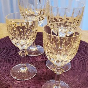 Gorham Crystal. Aspen. Water And Wine Glasses for Sale in Queens, NY