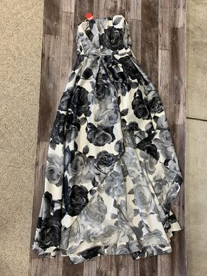 Floral high low prom dress for Sale in Penllyn, PA