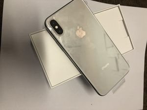 iPhone X 256gb unlocked $600 for Sale in San Francisco, CA