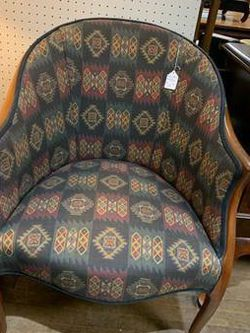 Aztec Southwest Barrel Chair for Sale in Beaver Falls,  PA