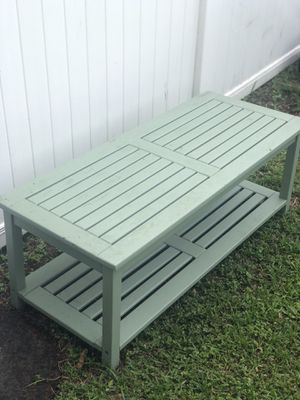 Sweet outdoor bench for Sale in Safety Harbor, FL
