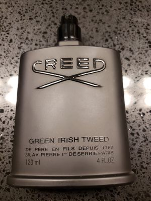 Creed Green Irish Tweed AUTHENTIC cologne perfume for Sale in Houston, TX