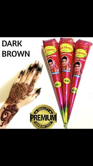 Natural henna cones/henna tattoo for Sale in Tampa, FL