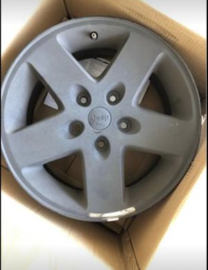 4 Jeep Wrangler wheels for Sale in Katy, TX