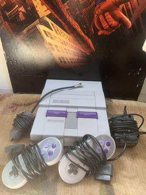 Original Super Nintendo (SNES) for Sale in Pleasanton, CA