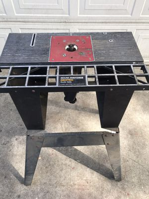 Industrial Router Table for Sale in Modesto, CA