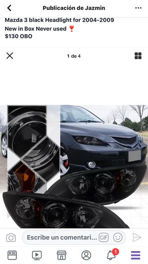 Headlight Mazda 2004-2009 for Sale in Poinciana, FL