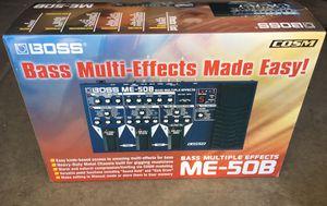 Boss ME-50B Bass Multi-Effects for Sale in Mesa, AZ