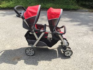 Chicco Cortina Double Stroller for Sale in Crofton, MD
