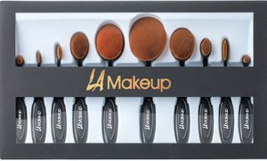 10pcs professional makeup brushes set with gift box for Sale in Los Angeles, CA