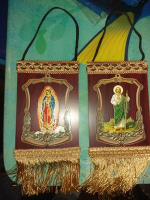 Virgen de Guadalupe and San Judas for Sale in Oakland, MN
