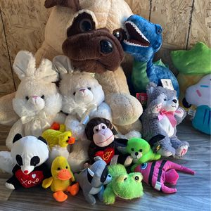 Plushies Lot Set for Sale in Kent, WA
