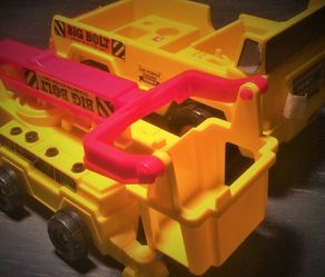 Vintage 1980's Tomy Big Bolt Construction Truck Set! for Sale in Oak Lawn,  IL