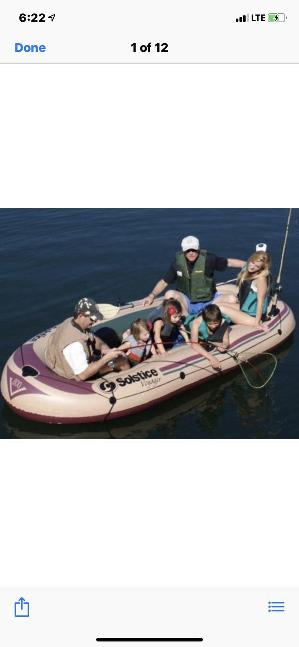 Inflatable Boat 🚣 6 person 90 Dollars // New //