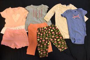 Baby girl clothes lot(6-12months) for Sale in Durham, NC