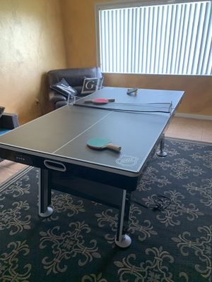 2 i one Pin Pon & Hockey table for Sale in Kissimmee, FL