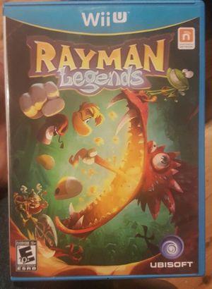 Rayman Legends Nintendo Wii U for Sale in Woodinville, WA