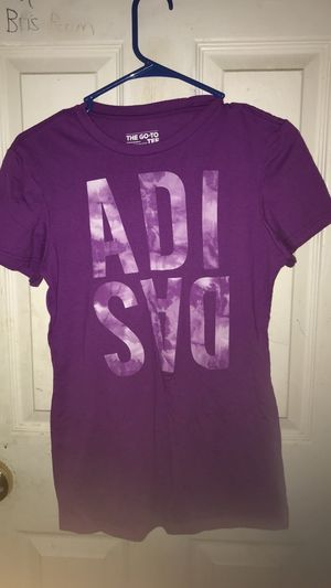 Purple Adidas shirt for Sale in Washington, IL