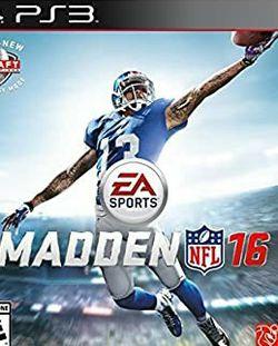 Madden NFL 2016 PS3 $60 OBO for Sale in Largo,  FL