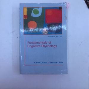 Fundamentals of Cognitive psychology for Sale in Pomona, CA