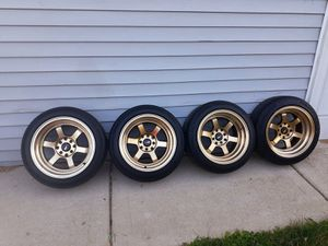 Rims de 4 hoyos universal for Sale in Maywood, IL