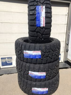 35/12/50/22⚡️10 ply 💥4 NeW TireS⚡️2 years warranty 💥899$ for Sale in Arlington, TX