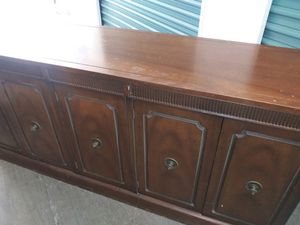 Vintage Credenza/Sideboard for Sale in Rancho Cucamonga, CA