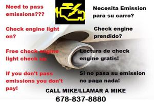 100% emission pass for Sale in Norcross, GA