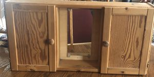 Solid Oak Wood Cabinet for Sale in DuPont, WA