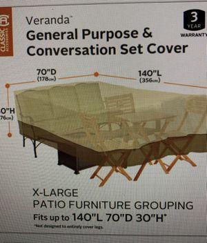 Classic Accessories Veranda Patio Furniture Cover for Sale in Las Vegas, NV