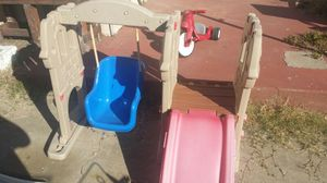 Lil tike slide and swing set for Sale in San Diego, CA