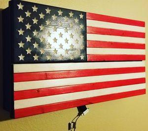 Wooden flag case for Sale in Norwalk, CA