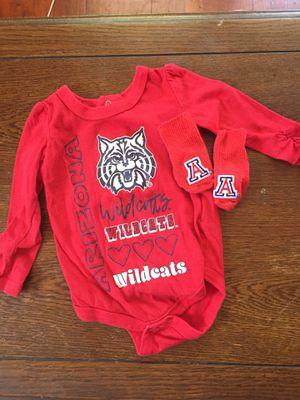 University of Arizona Wildcats Onesie 0-3 Mo - U of A $3 for Sale in Tempe, AZ