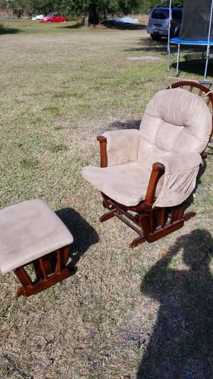 Rocking chair and ottoman for Sale in NC, US