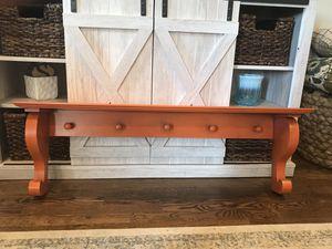 Orange Shelf with 5 Pegs for Sale in Nolensville, TN