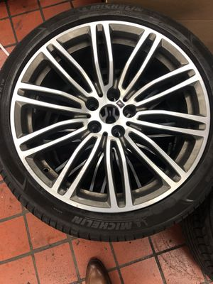 BMW OEM Wheels and Tires 2018 M550ix for Sale in Silver Spring, MD