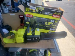 RYOBI View the Collection 14 in. 40-Volt Brushless Lithium-Ion Cordless Chainsaw, for Sale in Westminster, CA