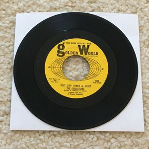"The Reflections ""(Just Like) Romeo & Juliet"" vinyl 7"" single 1964 Golden World Records Original 1st Press Mono not a reissue very nice copy 60s North for Sale in Aliso Viejo, CA"