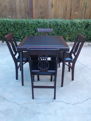 Very nice unique solid wood pub table for Sale in Fresno, CA