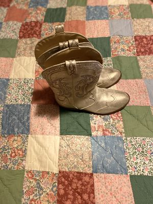 Brand new girl cowboy boots size 3 $15 for Sale in Carson, CA
