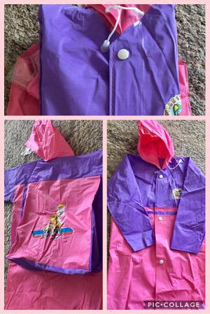 Girl raincoat new 4-6T..$3 for Sale in Rochester, MI