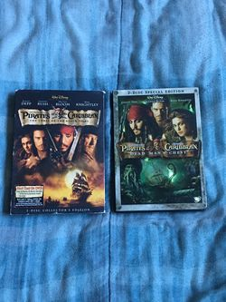 Pirates Of The Caribbean DVDs for Sale in Los Angeles,  CA