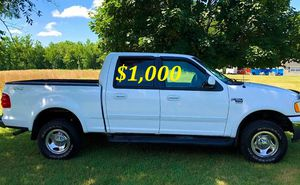 🟢💲1,OOO For sale URGENTLY this Beautiful💚2002 Ford F150 nice Family truck XLT Super Crew Cab 4-Door Runs and drives very smooth V8 new🟢 for Sale in Vancouver, WA