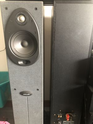 Like new Polk audio speaker with amp for Sale in Tampa, FL